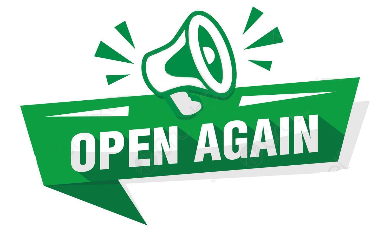 Office open again!